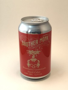 Brother Monk - Strawberry Lemonade (12oz Can)